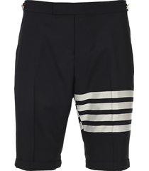 plain weave suiting 4-bar shorts