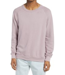 alternative champ washed terry sweatshirt, size xx-large in light mauve at nordstrom