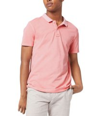 dockers men's regular-fit garment-dyed pique polo shirt