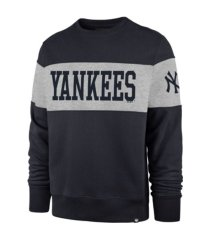 '47 brand new york yankees men's interstate crew sweatshirt