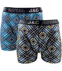 j&c heren boxer 2 pak 30060-xxl