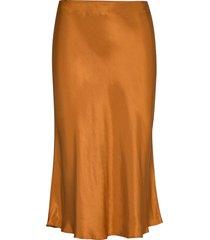 kind midi skirt knälång kjol orange storm & marie