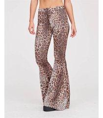 pantalon animal print 47 street leopard