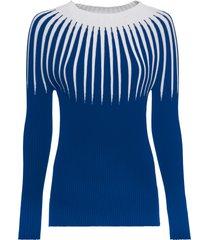maglione con righe (blu) - rainbow
