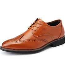scarpe da cerimonia con bretelle da uomo