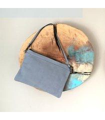 kopertówka tesoros escondidos - azul