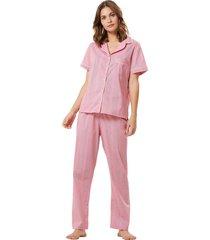 pijama corpo e arte lyon vermelho
