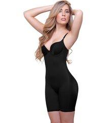 "black full body shaper with underwire bra ""emilie"" 919"