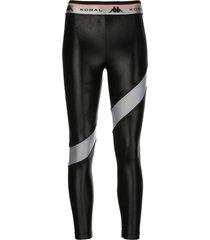 koral aello infinity contrasting-stripe leggings - grey