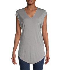 helmut lang women's twist-back top - opal - size xs