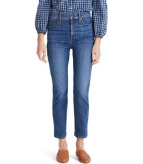 women's madewell stovepipe jeans