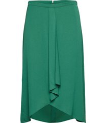 skirt short woven fa knälång kjol grön gerry weber