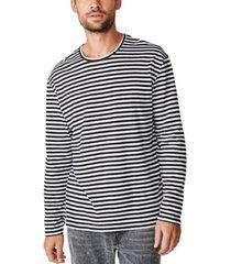 cotton on men's premium long sleeve crew t-shirt