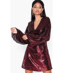 ivyrevel flowy sequin dress paljettklänningar