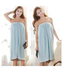 2 estilos de cores diferentes padrão de microfibra toalha de banho spas absorventes roupão de praia