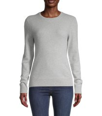 saks fifth avenue women's cashmere sweater - poinsettia - size xs