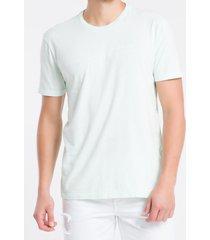 camiseta mc regular silk meia marm gc - verde claro - pp