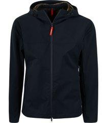 fay classic zip hooded jacket