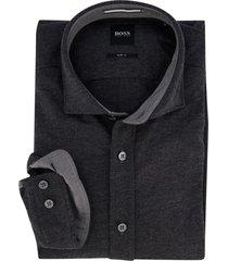 hugo boss overhemd antracies slim fit