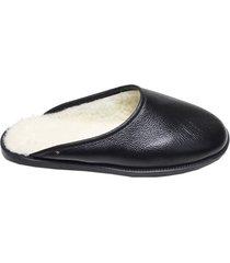 pantufa estilo chinelo feminina tibas preta