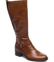 boots höga stövlar brun tamaris