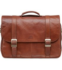 mancini arizona collection porthole laptop/ tablet briefcase