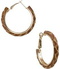 patricia nash colette braided women's earrings