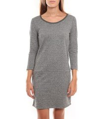 korte jurk vero moda freya 3/4 short dress 97250 argent