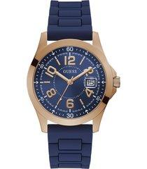 reloj guess hombre deck/gw0058g3 - azul