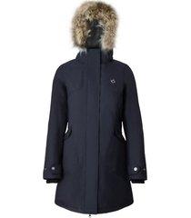 abrigo mujer aranesa azul doite