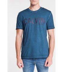 camiseta ckj mc calvin - indigo - pp