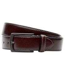 jos. a. bank leather belt - long