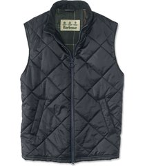 barbour finn gilet, navy, large