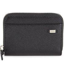 bholen leather zip-around wallet