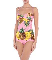 dolce & gabbana beachwear one-piece swimsuits