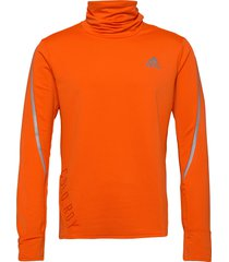 c.r cover up m t-shirts long-sleeved oranje adidas performance