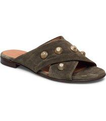 sandals 4143 shoes summer shoes flat sandals grön billi bi