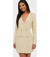 missguided oversized blazer dress loose fit