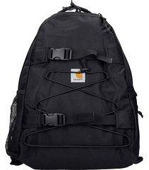 carhartt kinckflip backpack in black synthetic fibers