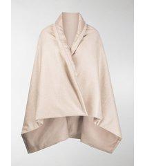 max mara wrap blanket cape