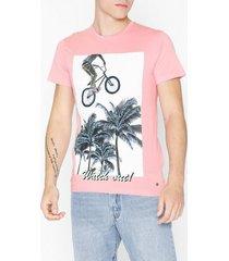 solid cory ss t-shirt t-shirts & linnen lila