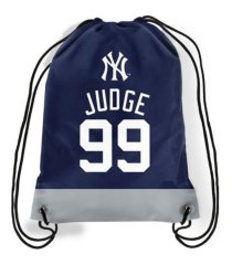 forever collectibles new york yankees player drawstring bag aaron judge