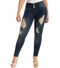 jeans colombiano control de abdomen bp azul new rodivan