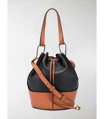 loewe panelled bucket bag