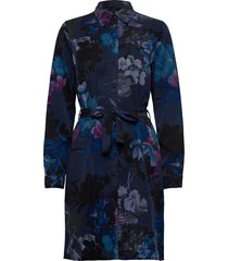 vest florencia jurk knielengte blauw desigual