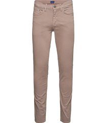 hayes desert jeans slimmade jeans brun gant