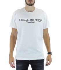 camiseta logo capri