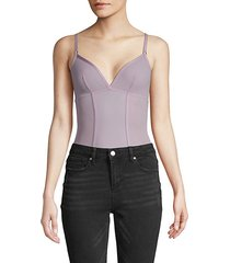 verona v-neck bodysuit