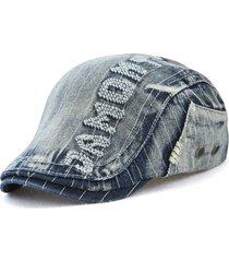 cappello di berretti di demin lavati di alta qualità degli uomini