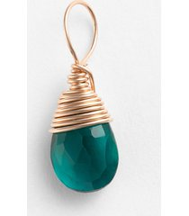 women's nashelle 14k-rose gold fill & semiprecious stone charm